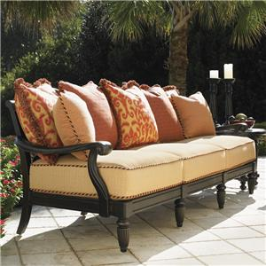 Tommy Bahama Outdoor Living Kingstown Sedona Scatterback Sofa