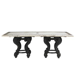 Tommy Bahama Outdoor Living Kingstown Sedona Stone Rectangular Dining Table