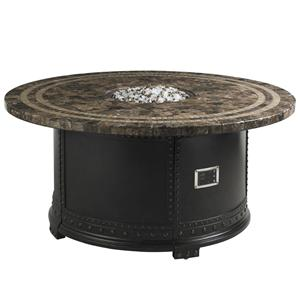 Tommy Bahama Outdoor Living Kingstown Sedona Gas Fire Pit