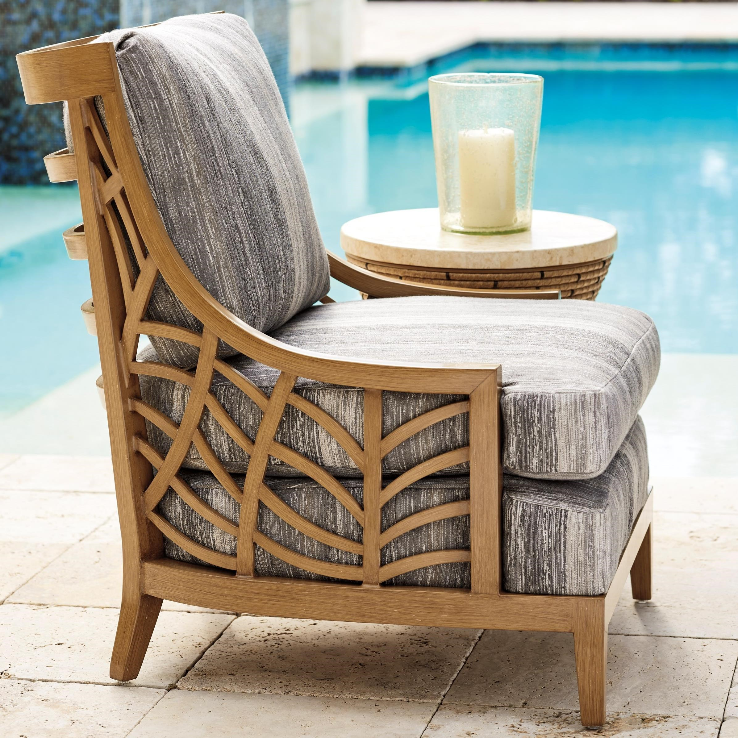Los Altos Valley View Occasional Chair by Tommy Bahama Outdoor Living at Baer's Furniture