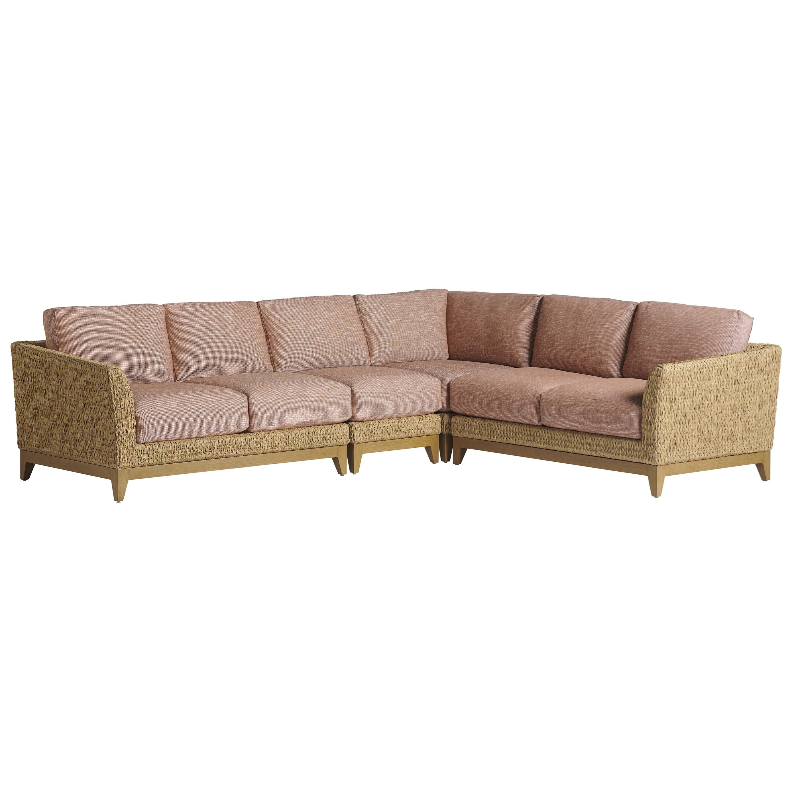 Los Altos Valley View 5-Seat Outdoor Sectional by Tommy Bahama Outdoor Living at Baer's Furniture