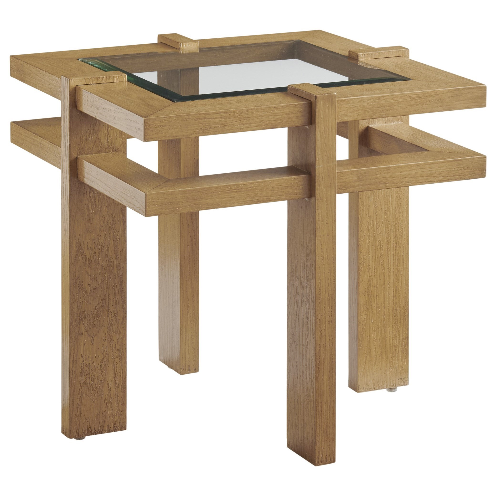 Los Altos Valley View Square End Table by Tommy Bahama Outdoor Living at Baer's Furniture