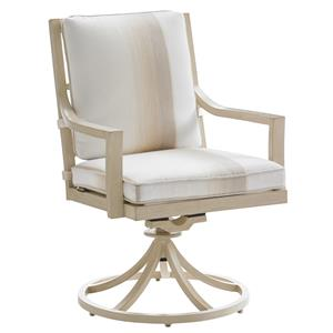 Tommy Bahama Outdoor Living Misty Garden Swivel Rocker Dining Chair