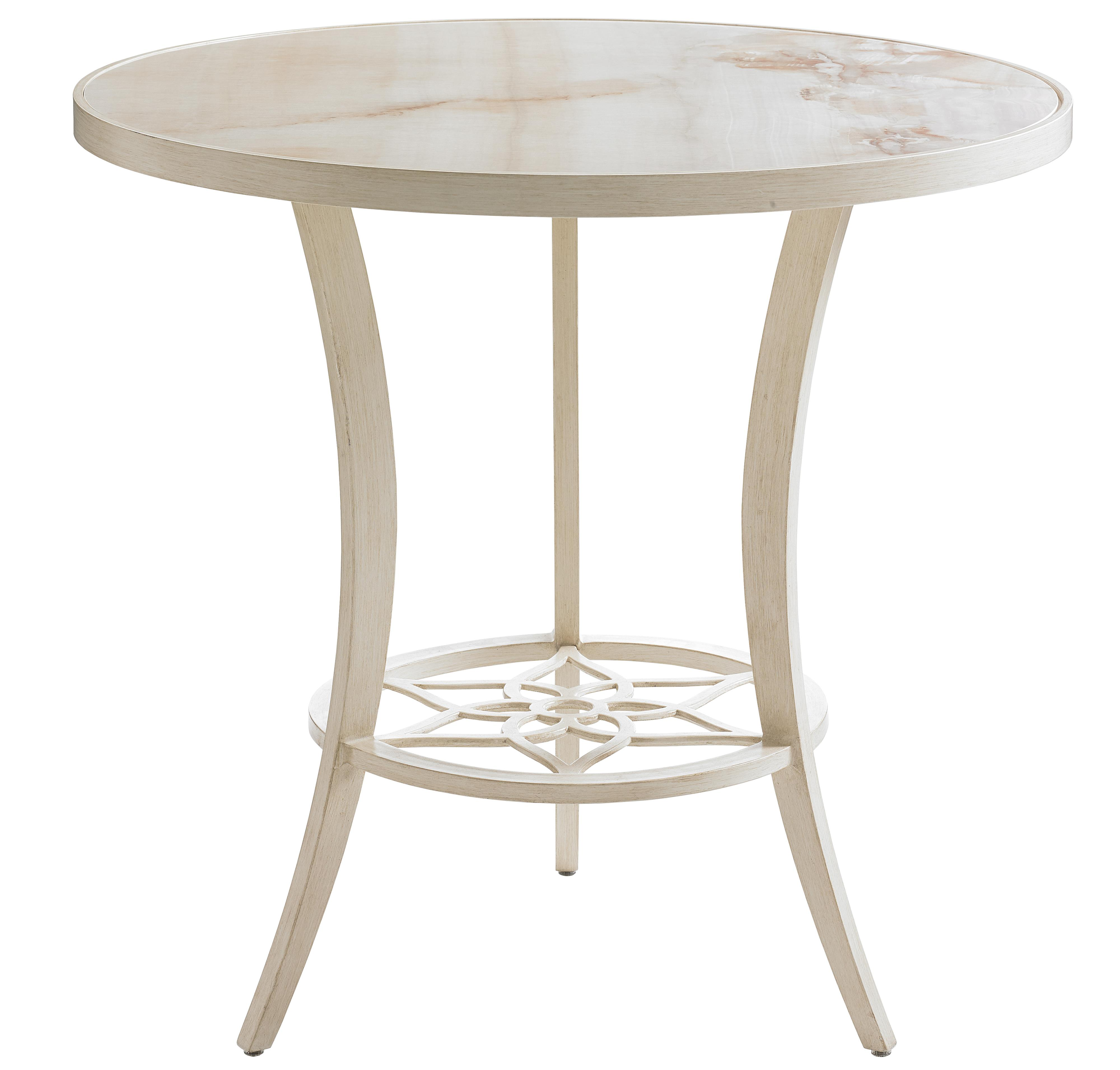Misty Garden High/Low Bistro Table by Tommy Bahama Outdoor Living at Baer's Furniture
