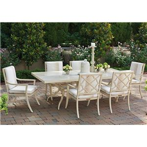 Tommy Bahama Outdoor Living Misty Garden 7 Pc Dining Set