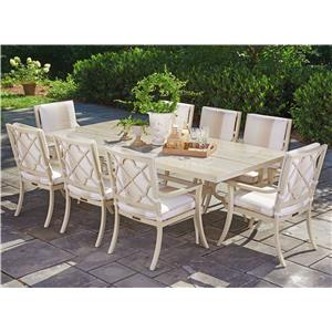 Tommy Bahama Outdoor Living Misty Garden 9 Pc Dining Set