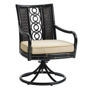 Tommy Bahama Outdoor Living Marimba Swivel Rocker Dining Chair