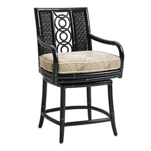 Tommy Bahama Outdoor Living Marimba Swivel Counter Stool