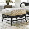Tommy Bahama Outdoor Living Marimba Ottoman - Item Number: 3237-44+CS3237-44-7686-11