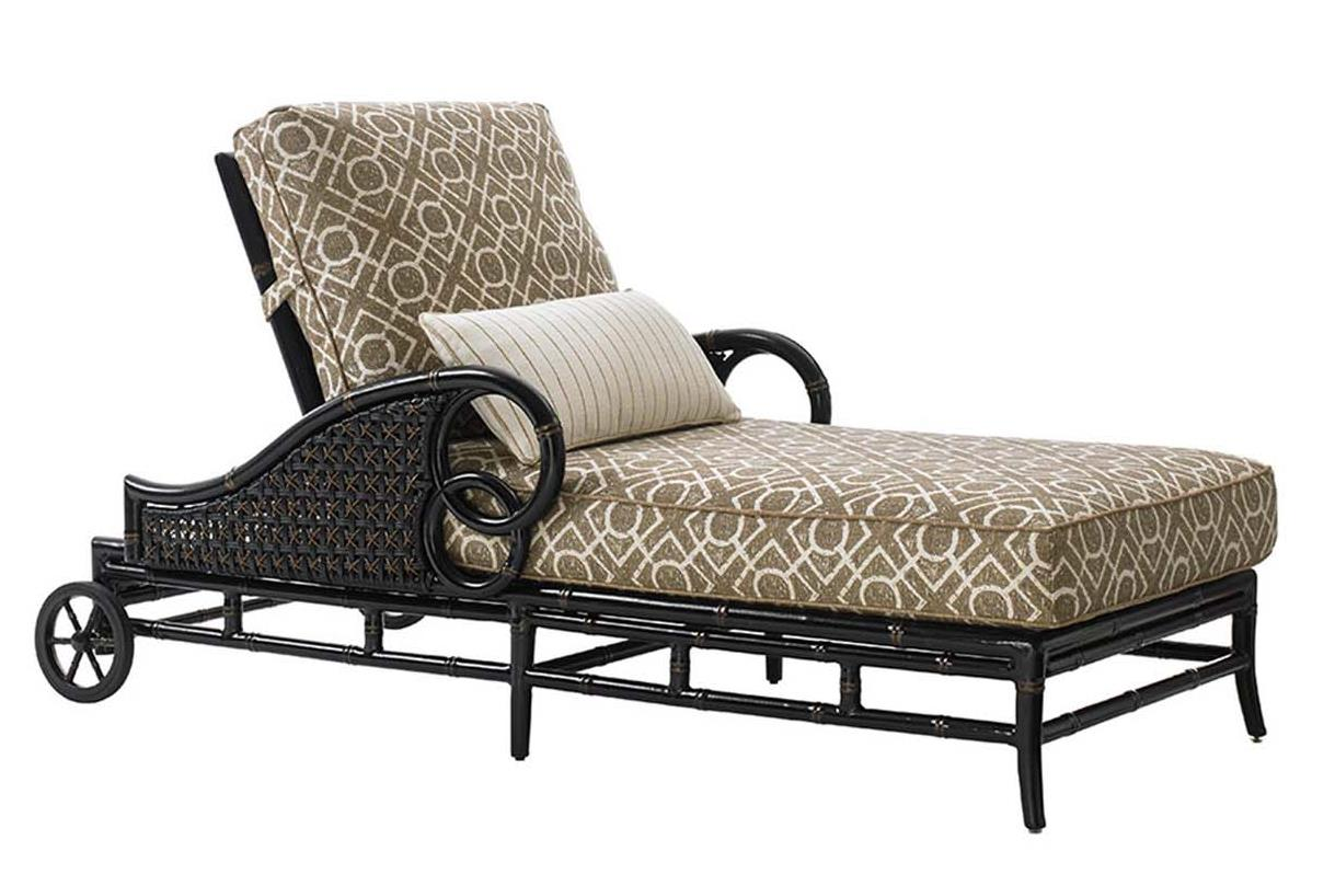 Tommy bahama outdoor living marimba outdoor chaise lounge for Accent chaise lounge