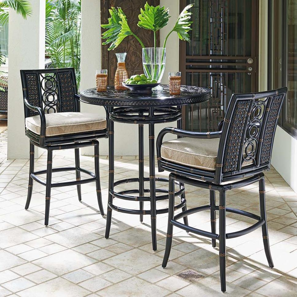 High/Low Bistro Table w/ Bar Stools