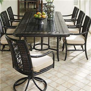 Tommy Bahama Outdoor Living Marimba 9 Pc Outdoor Dining Set