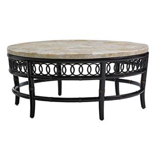 Tommy Bahama Outdoor Living Marimba Round Cocktail Table