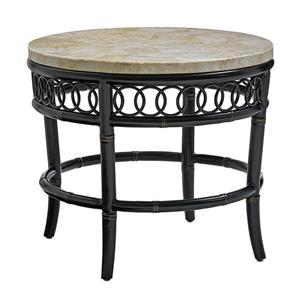 Tommy Bahama Outdoor Living Marimba Round End Table