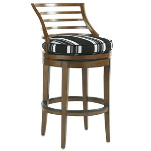 Tommy Bahama Outdoor Living Ocean Club Pacifica Outdoor Swivel Bar Stool