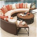 Tommy Bahama Outdoor Living Ocean Club Pacifica 6 Piece Patio Set - Item Number: 3x3130-82A+2x950+943+3xCS3130-82AS