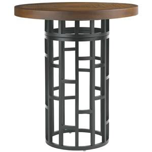 Tommy Bahama Outdoor Living Ocean Club Resort 38-Inch Weatherstone Top Bistro Table