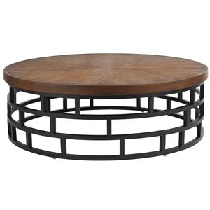 Tommy Bahama Outdoor Living Ocean Club Resort Cocktail Table with Weatherstone Top