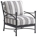 Tommy Bahama Outdoor Living Pavlova Lounge Chair - Item Number: 3910-11+CS3910-11