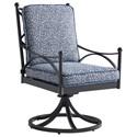 Tommy Bahama Outdoor Living Pavlova Outdoor Swivel Rocker Dining Chair - Item Number: 3910-13SR+CS3910-13SR