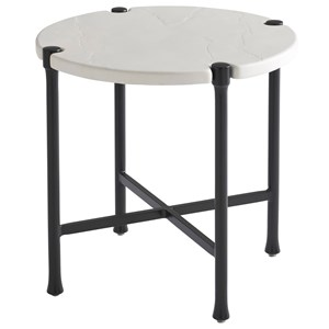 Outdoor Round End Table