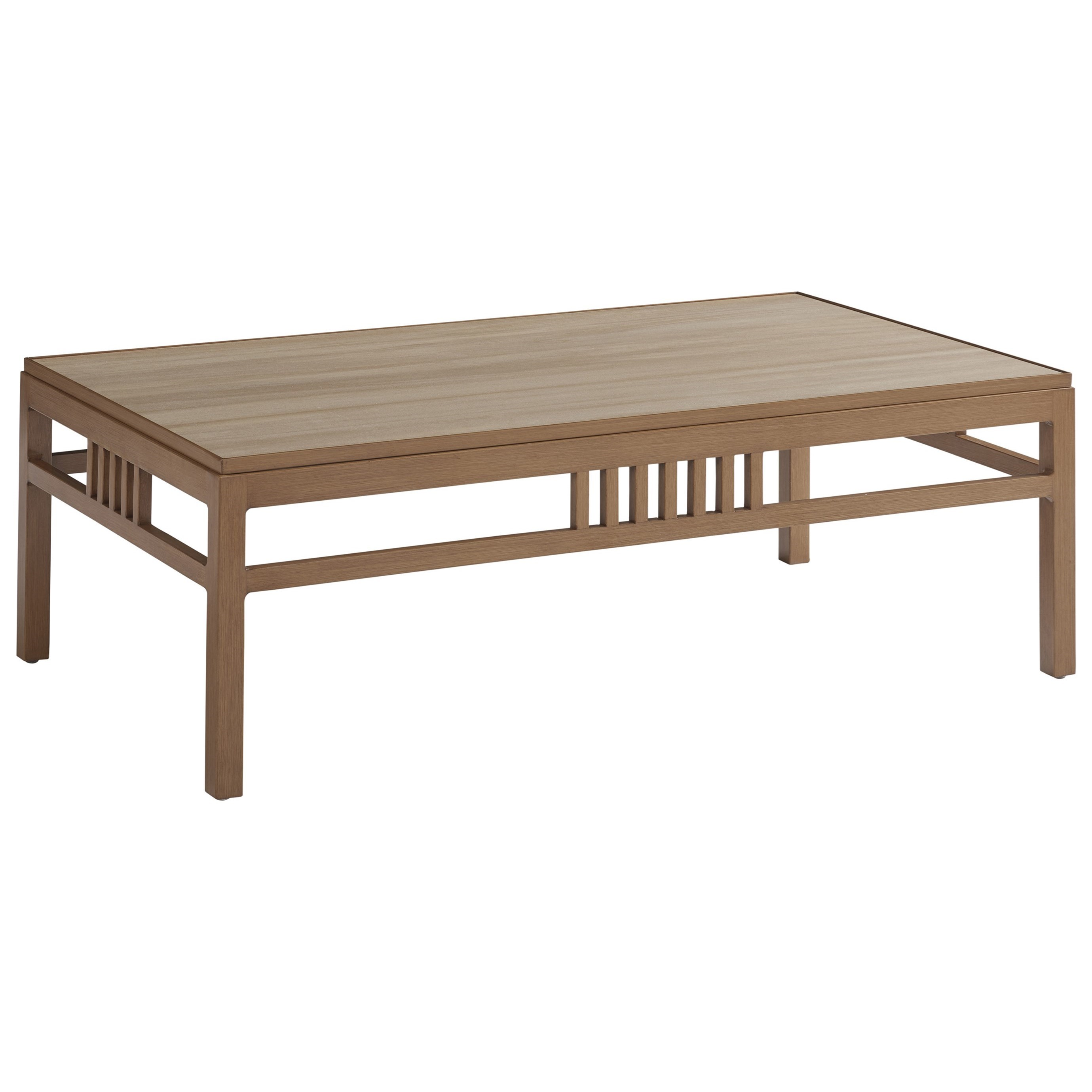 St Tropez Rectangular Cocktail Table by Tommy Bahama Outdoor Living at Baer's Furniture