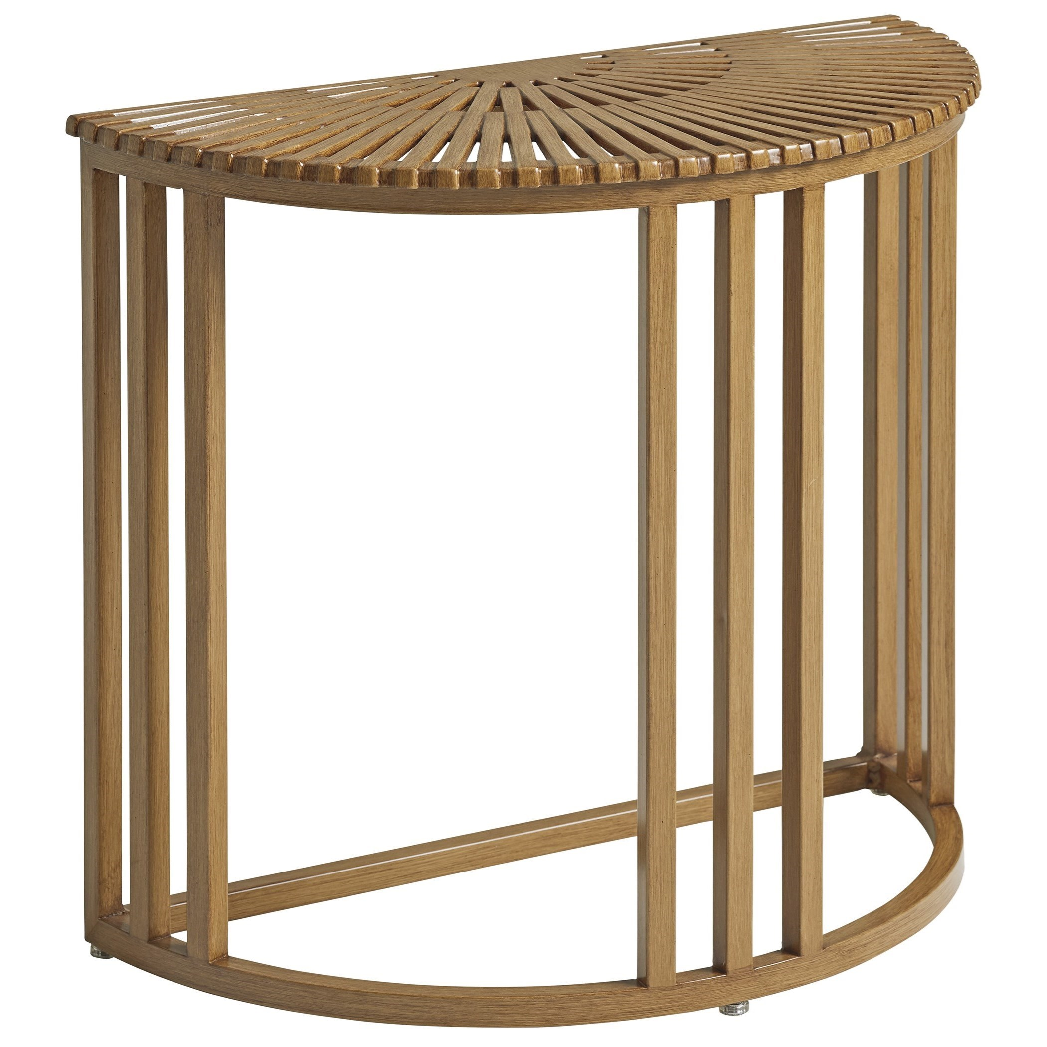 St Tropez Demilune End Table by Tommy Bahama Outdoor Living at Baer's Furniture