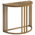 Tommy Bahama Outdoor Living St Tropez Demilune End Table - Item Number: 3925-950