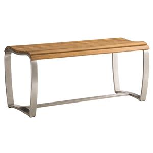 Tommy Bahama Outdoor Living Tres Chic Dining Bench