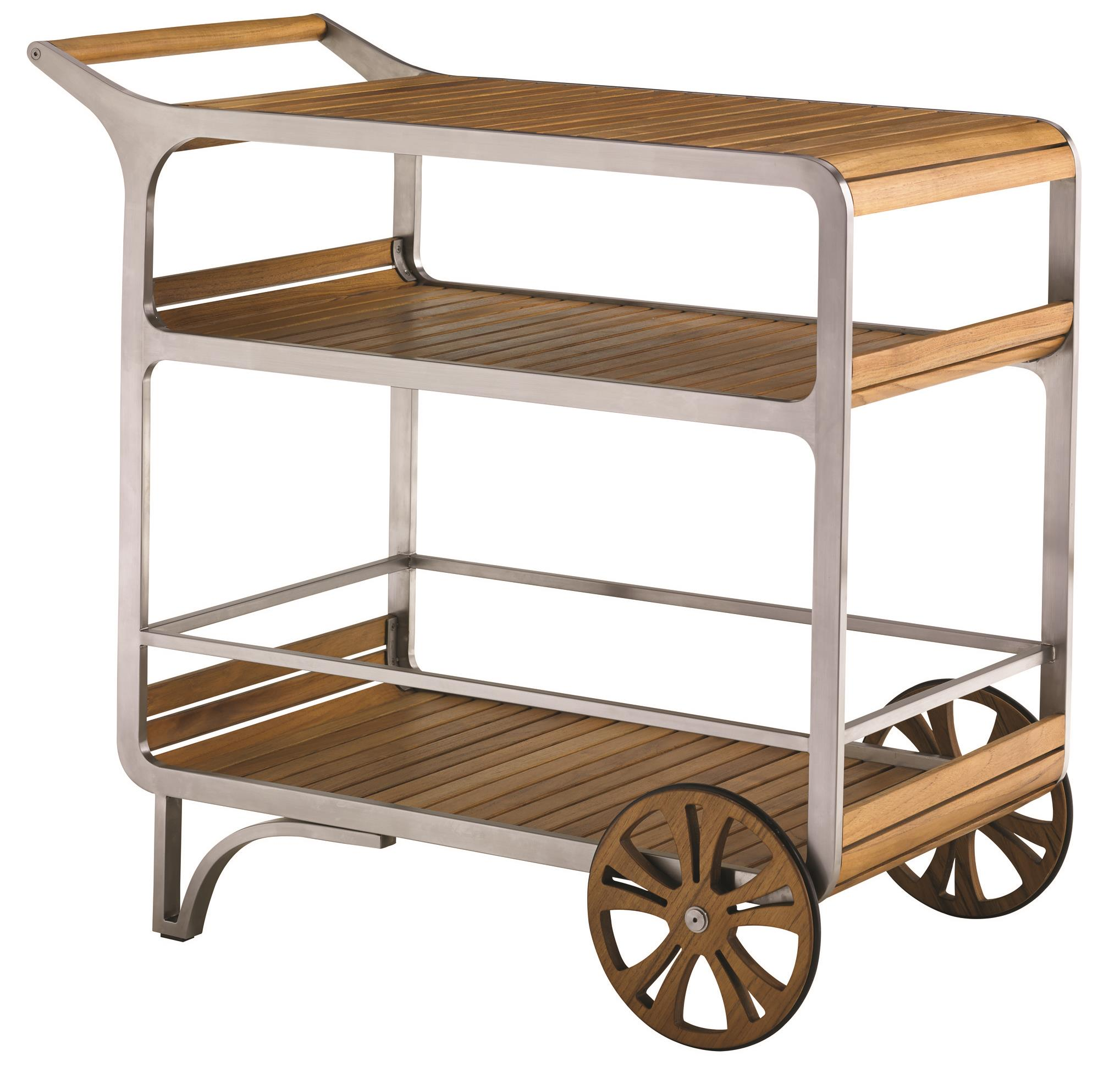Tommy Bahama Outdoor Living Tres Chic Mobile Bar Cart - Item Number: 3401-862