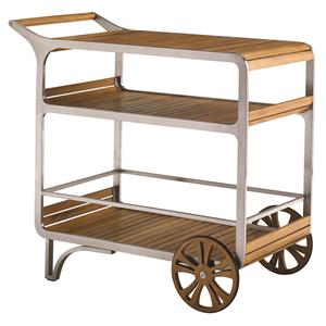 Tommy Bahama Outdoor Living Tres Chic Mobile Bar Cart
