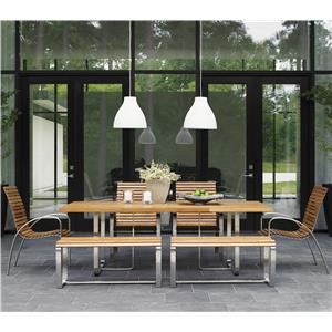 Tommy Bahama Outdoor Living Tres Chic 7 Pc Outdoor Dining Set