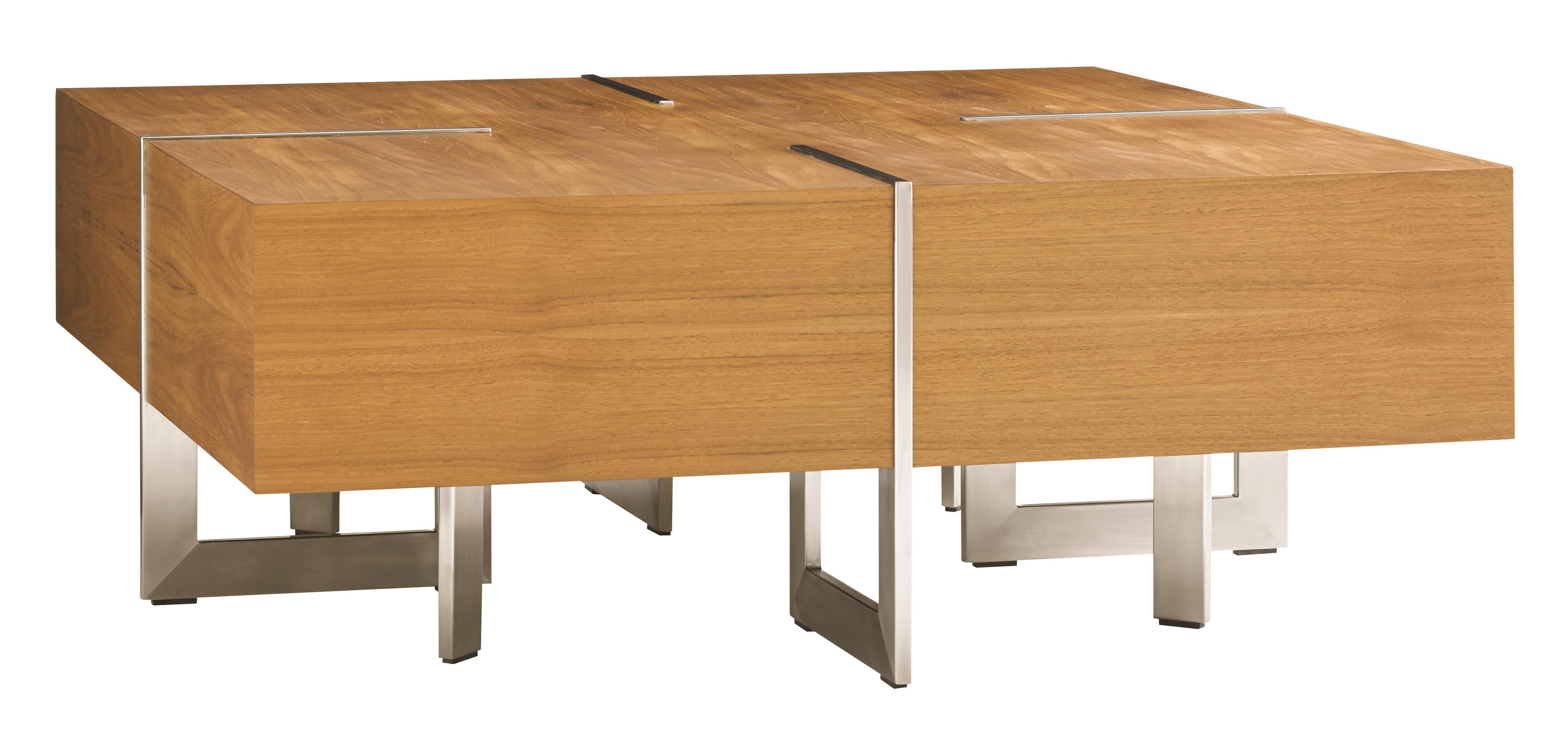 Tommy Bahama Outdoor Living Tres Chic Square Cocktail Table - Item Number: 3401-947