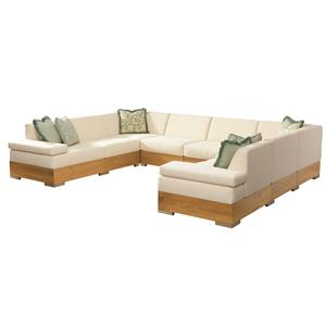 Tommy Bahama Outdoor Living Tres Chic Sectional Sofa