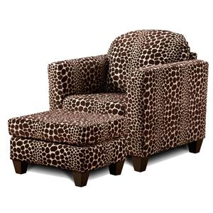 Townhouse 3100 Contemporary Upholstered Accent Chair