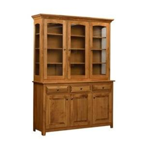 Trailway Wood Trailway Server  2-Piece China Cabinet