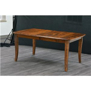 Trailway Wood Trailway Wood Solid Cherry Amish Table