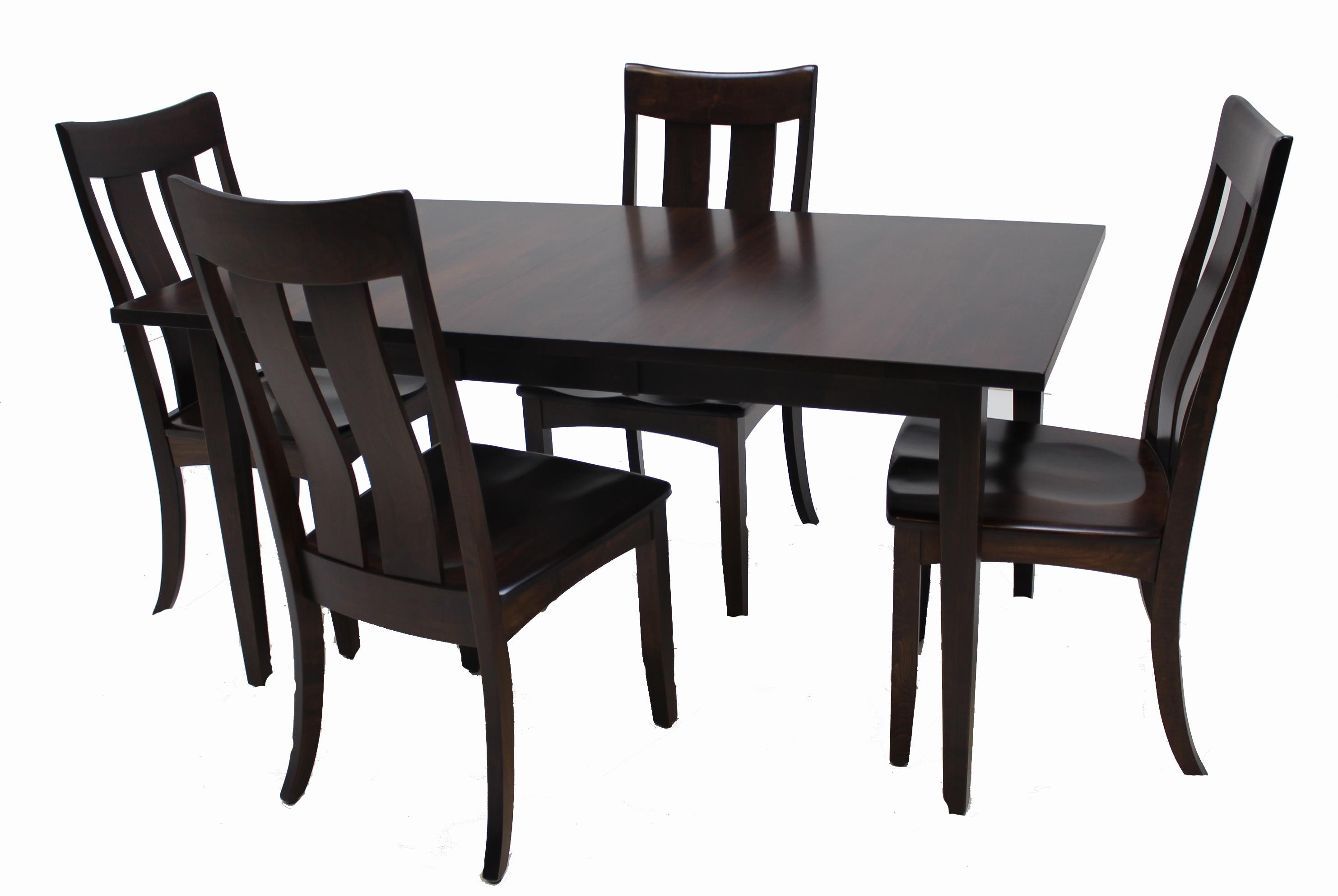 Trailway Wood ALT3648 5-Piece Dining Set - Item Number: ALT3648