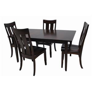 Trailway Wood ALT3648 5-Piece Dining Set