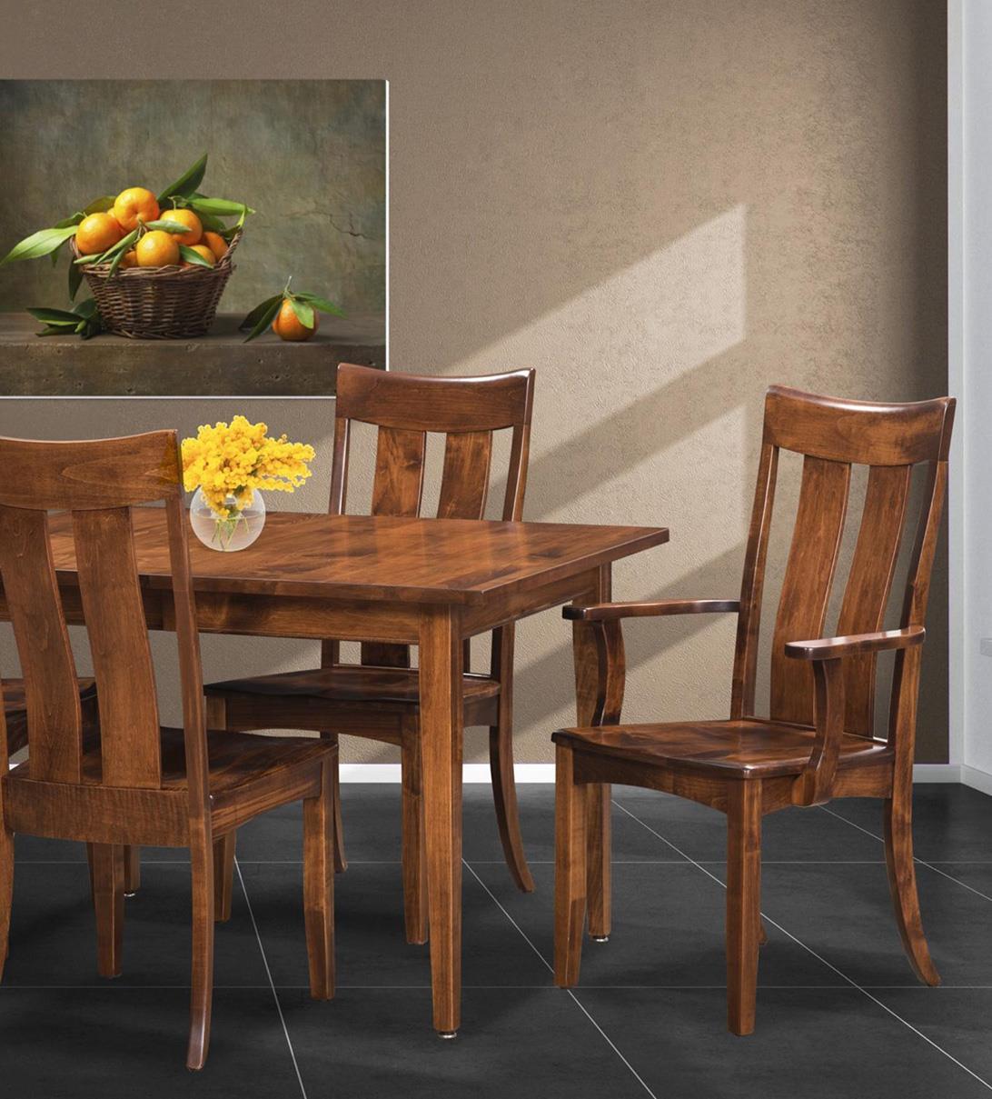 5-Piece Customizable Table & Chair Set
