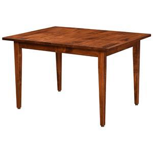 Trailway Wood Arlington <b>Customizable</b> Dining Table w/ 2 Leaves