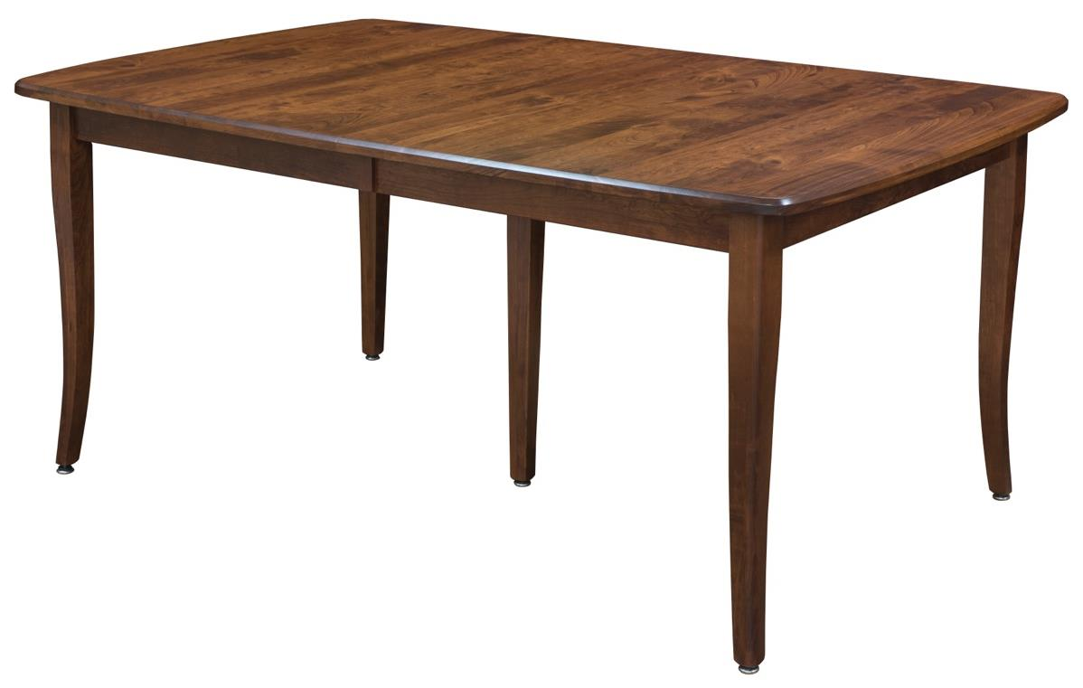 <b>Customizable</b> Dining Table w/ 2 Leaves