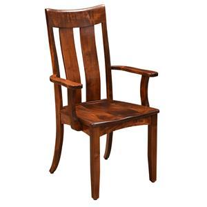 Trailway Wood Arlington <b>Customizable</b> Arm Chair