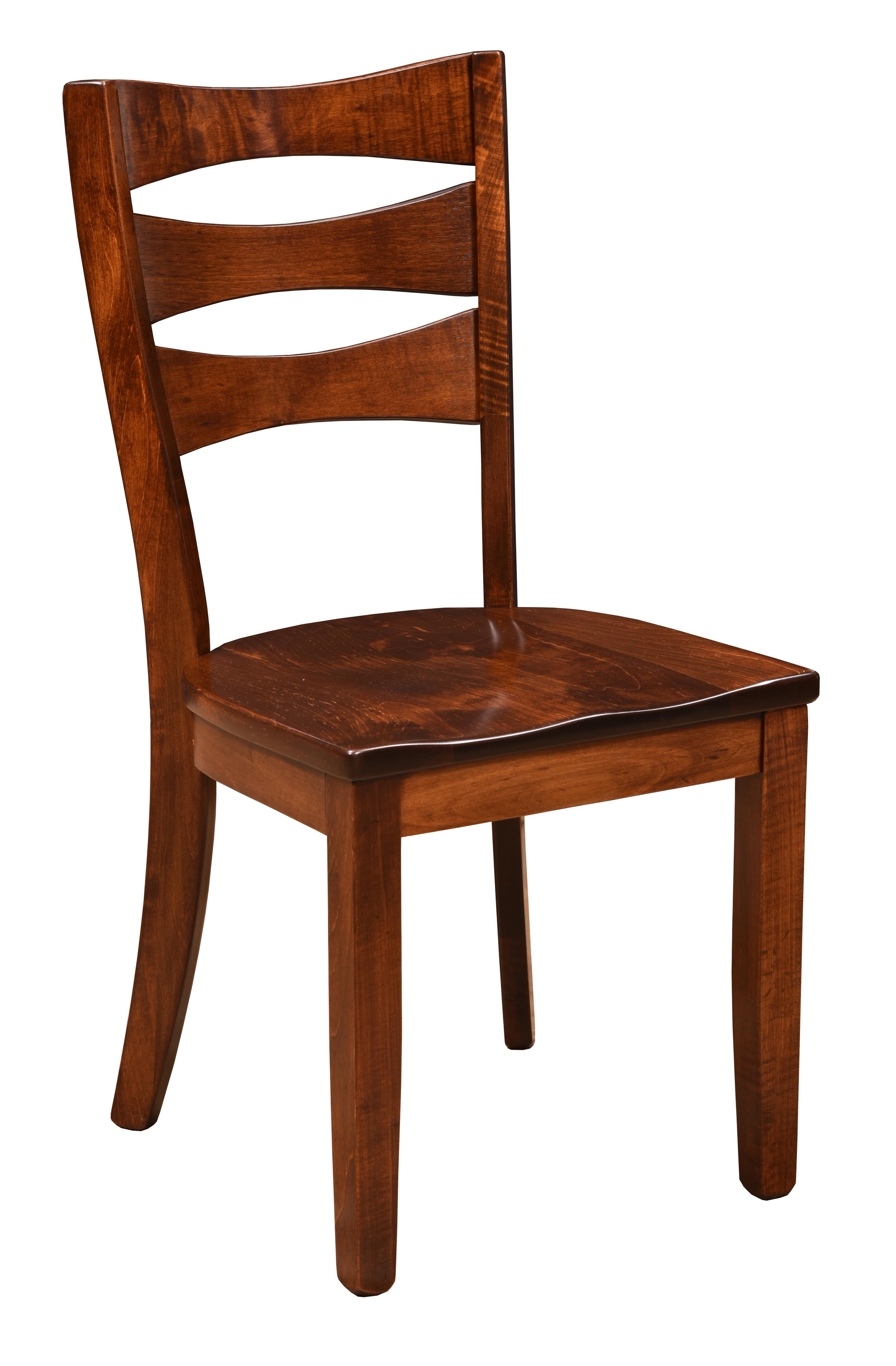 Trailway Wood Arlington <b>Customizable</b> Side Chair - Item Number: ALT886-S