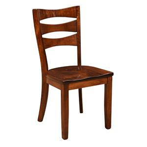 Trailway Wood Arlington <b>Customizable</b> Side Chair