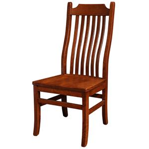 Rotmans Amish Copper Canyon Side Chair