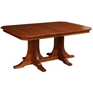 Rotmans Amish Copper Canyon Rectangular Dining Table