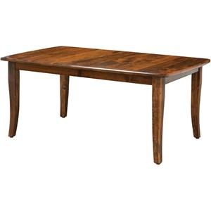 "Dining Table - 36x54 4L-12"" 1L w/apron (stor"