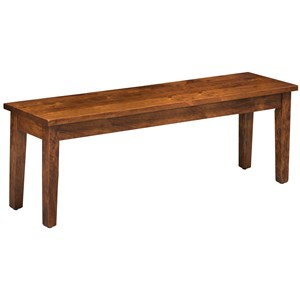 "Rotmans Amish Easton Pike 58"" Bench"