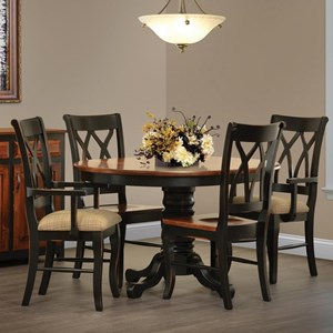 Rotmans Amish Ellis Cove Dining Table and Chair Set